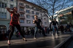 Dance For People při Mezinárodním dni tance