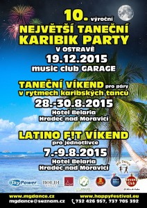 Taneční víkendy a 10.KARIBIK PARTY