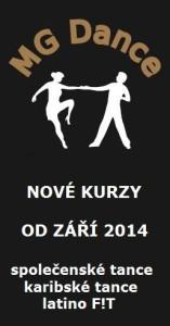 NOVÉ KURZY MG DANCE